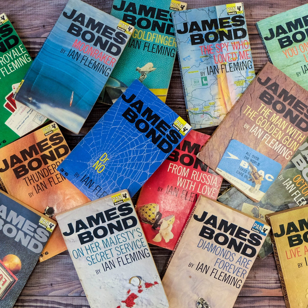 James Bond Book Lover Gifts Bookishly