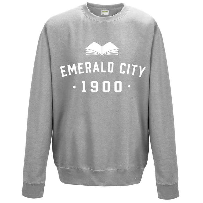 Wizard Of Oz 'Emerald City' Children's Varsity Sweatshirt
