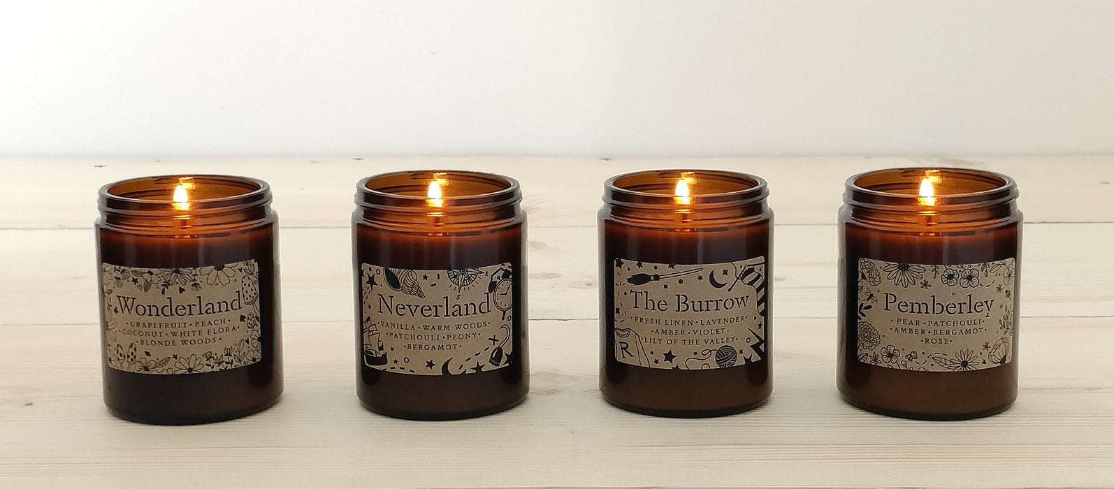 'Neverland' Book Lover Vegan Candle | 50 Hour Burn Time