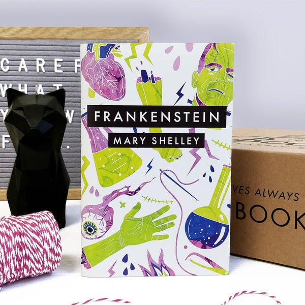 Frankenstein - The Past Classic Book Crate