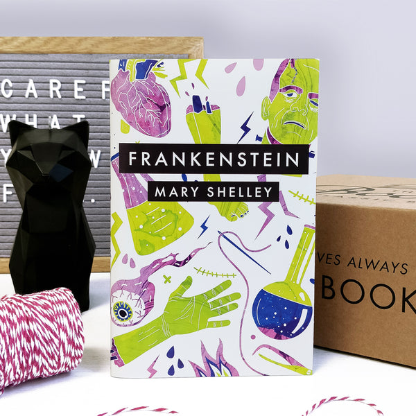 'Frankenstein' By Mary Shelley With Exclusive Bookishly Cover