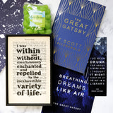 The Great Gatsby - The Past Bookishly Crate