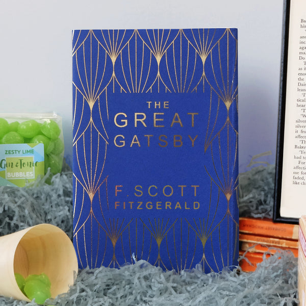 'The Great Gatsby' By F. Scott Fitzgerald With Exclusive Foiled Bookishly Cover
