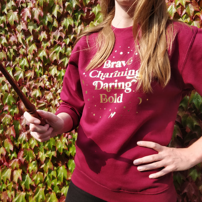 Red and Gold Magical Traits Sweatshirt