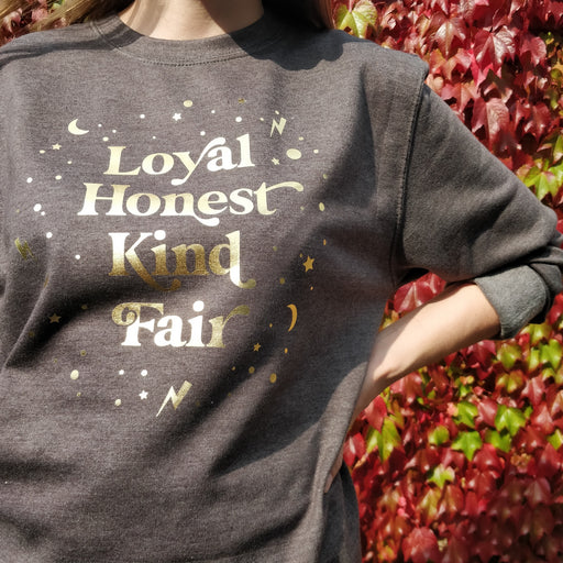 Dark Grey and Gold Magical Traits Sweatshirt