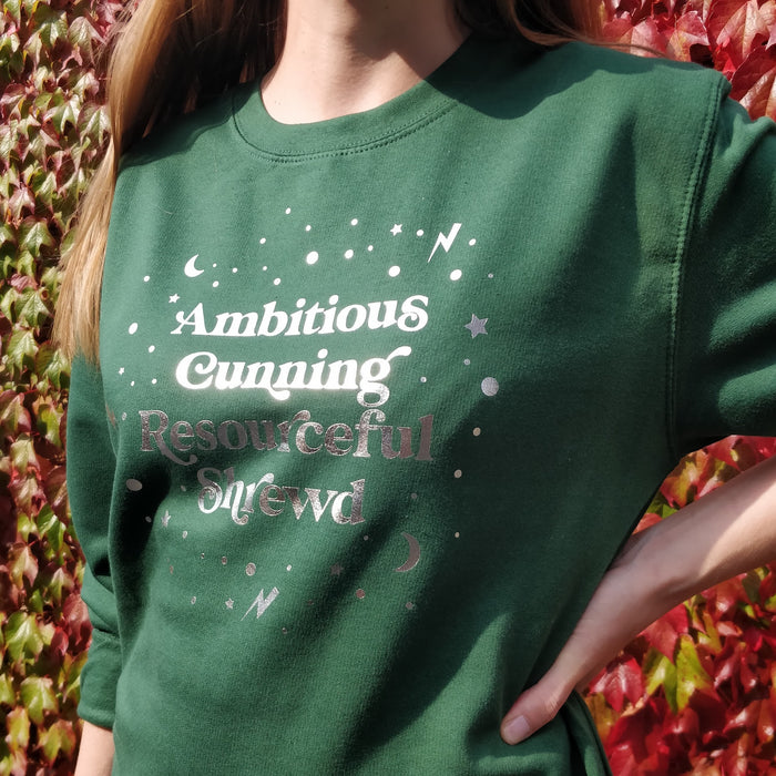 Green and Silver Magical Traits Sweatshirt