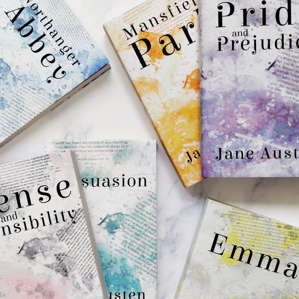 Jane Austen Collection Gifts for Book Lovers Exclusive Covers