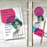 Writing Journal 'Join Hands Stand Beside Us' Suffragette Notebook