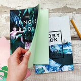 Two Bookish Notebooks 'The Jungle Book' & 'Moby Dick'