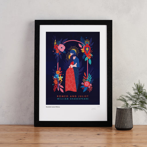 Romeo and Juliet Book Cover Art - Signed Limited Edition Print