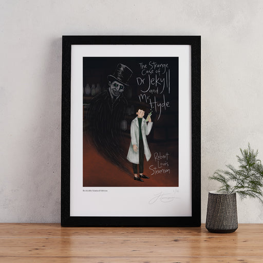 The Strange Case of Dr Jekyll and Mr Hyde Book Cover Art - Signed Limited Edition Print