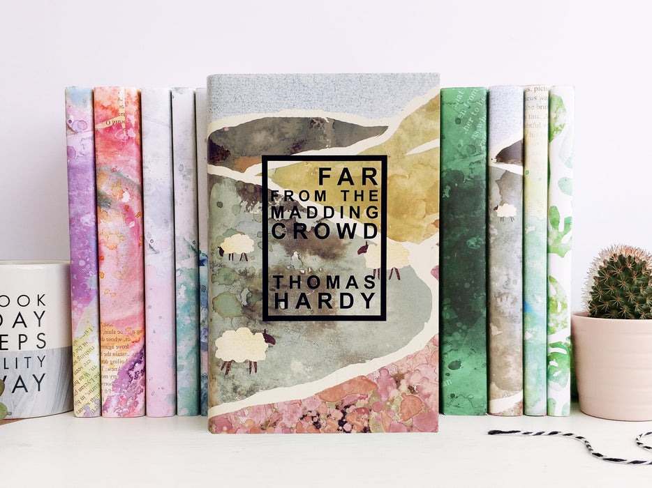 Thomas Hardy's Far From The Madding Crowd Exclusive Bookishly Cover Unique Gifts for Book Lovers