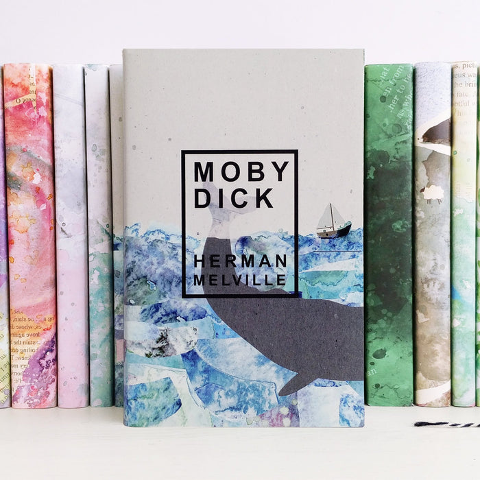 Herman Melville's Moby Dick Exclusive Cover Literary Gift