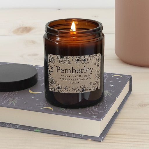 'Pemberley' Book Lover Vegan Candle | 50 Hour Burn Time