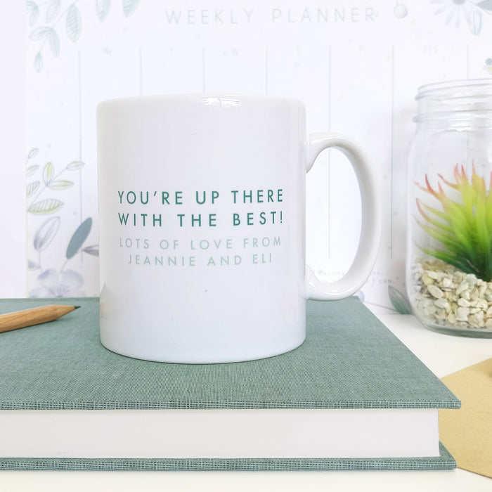 Personalised Thank You Teacher Mug Gift - Literature's Best Teachers