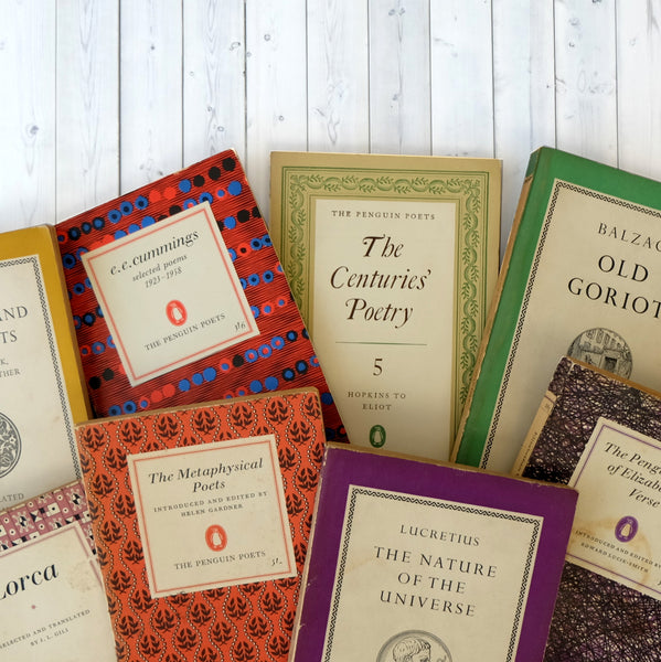 Vintage Poetry And Greek Classics Book Bundle