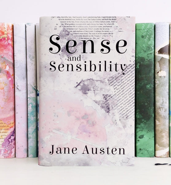 Jane Austen's Sense and Sensibility Exclusive Cover Book Lover Gifts