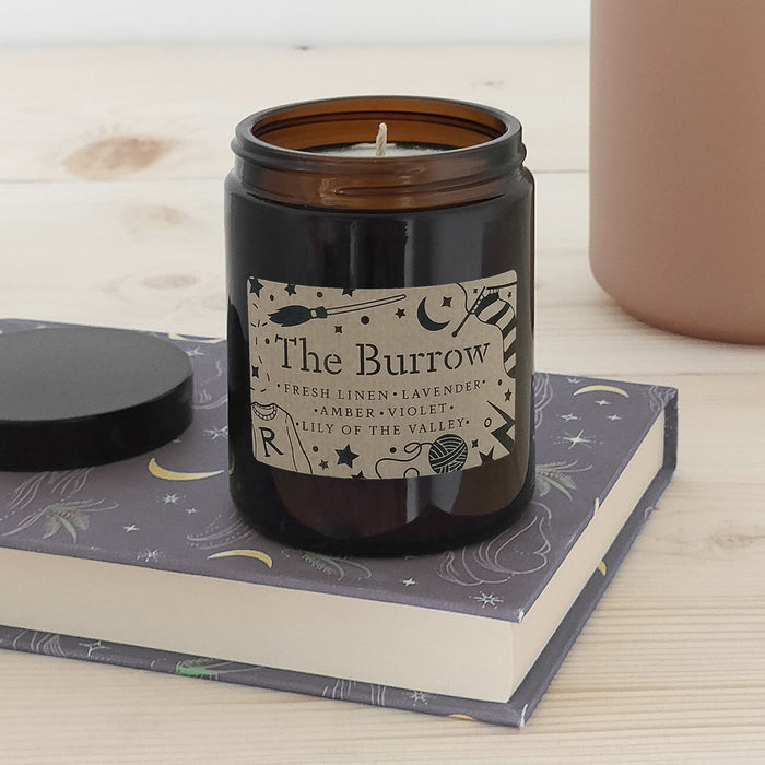 'The Burrow' Book Lover Vegan Candle | 50 Hour Burn Time