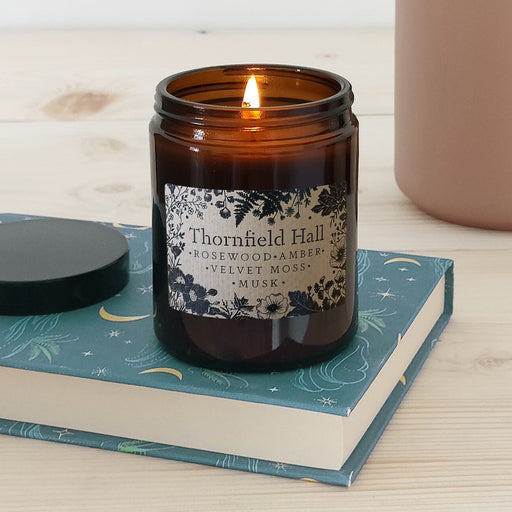 'Thornfield Hall' Book Lover Vegan Candle | 50 Hour Burn Time