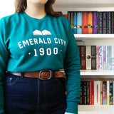 Wizard Of Oz 'Emerald City' College Style Literary Sweatshirt