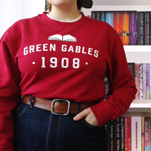 College Style 'Green Gables' Literary Varsity Sweatshirt