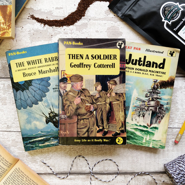 War Books - Three Month Vintage Book Subscription