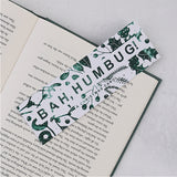 "A Christmas Carol ""Bah Humbug"" Christmas Bookmark"