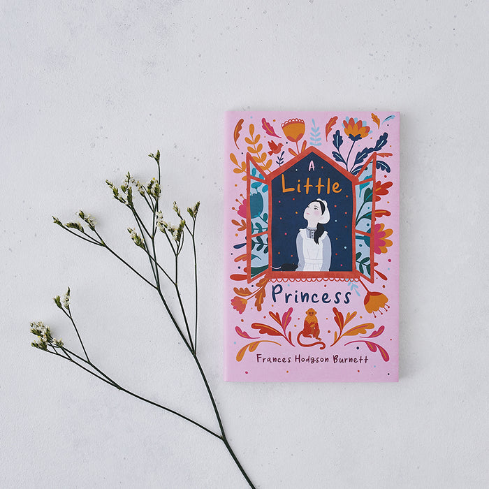 A Little Princess by Frances Hodgson Burnett with beautiful cover