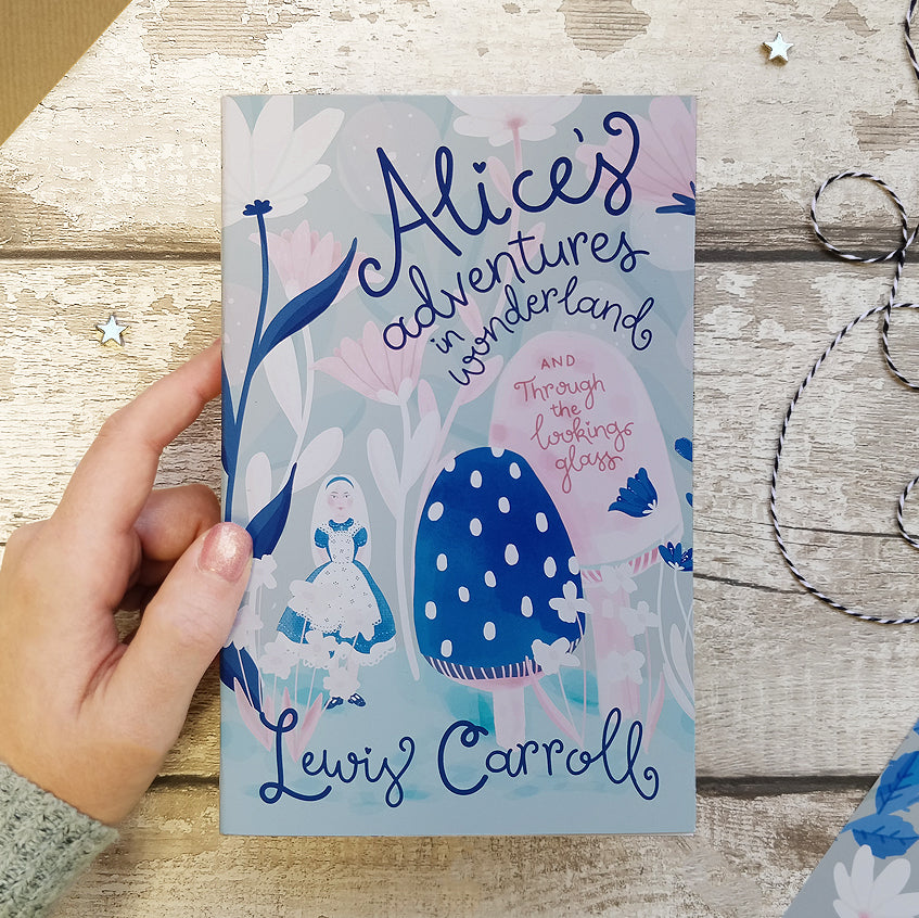 Alice's Adventures in Wonderland- Book By Lewis Carroll - Exclusive Bookishly Edition