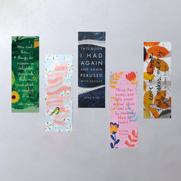 Strong Female Characters Bookmark Bundle - Five Pack