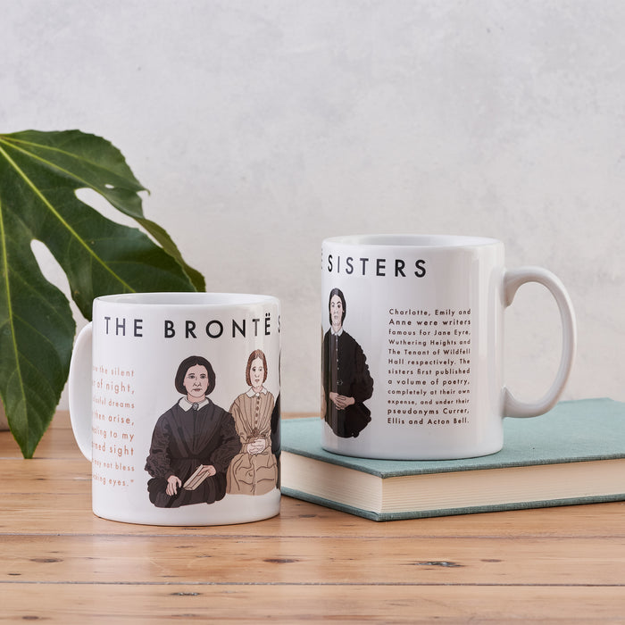 The Brontë Sisters Book Lover Author Mug