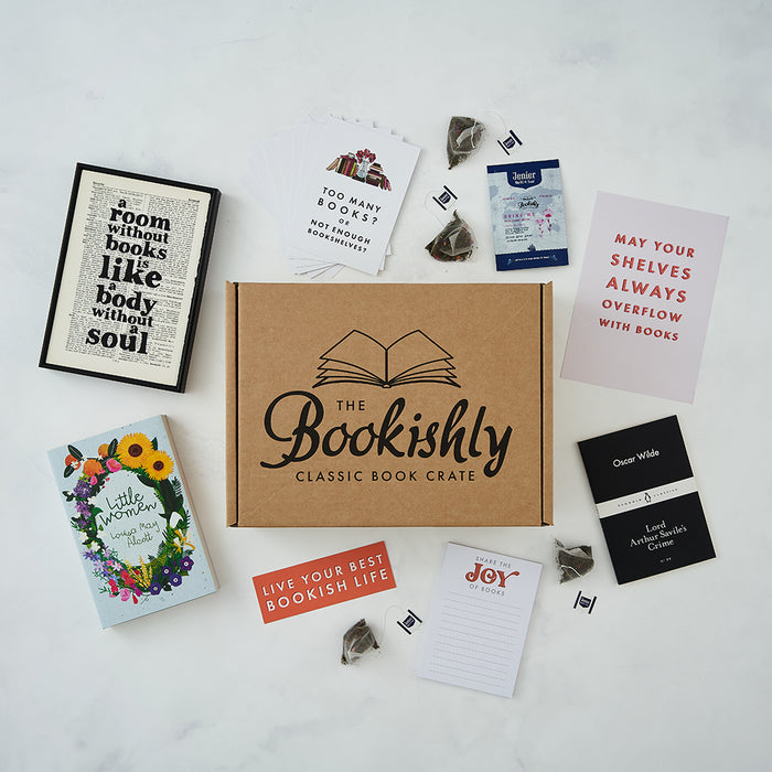 Bookishly's Build Your Own Book Crate