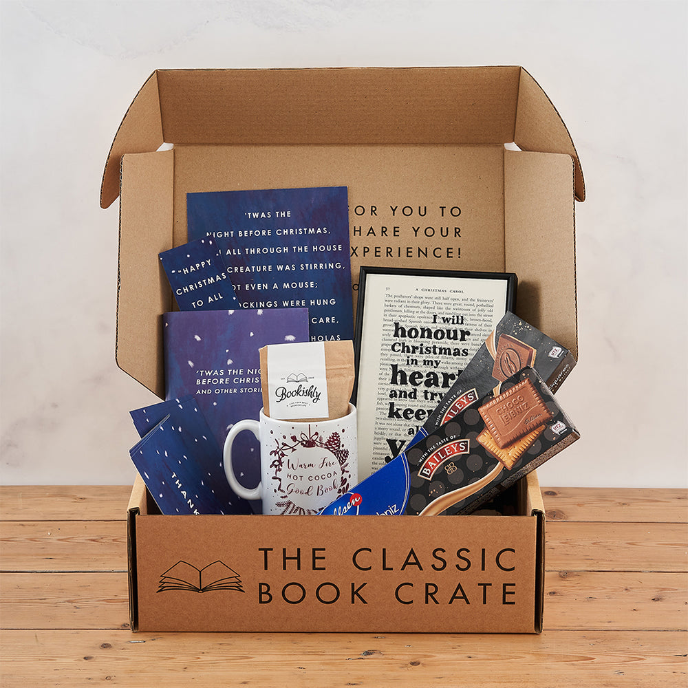 Book Lover's Christmas Eve Box