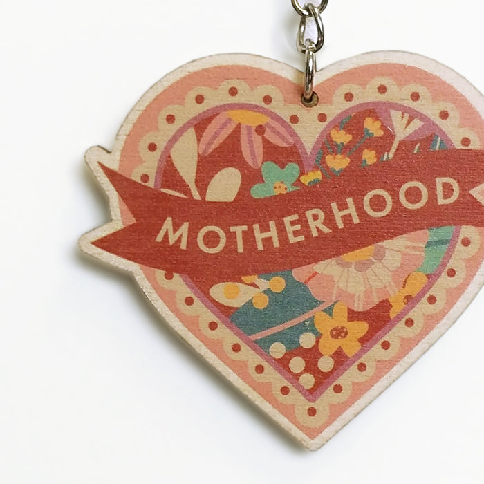 Motherhood Keyring - Motherhood Gifts