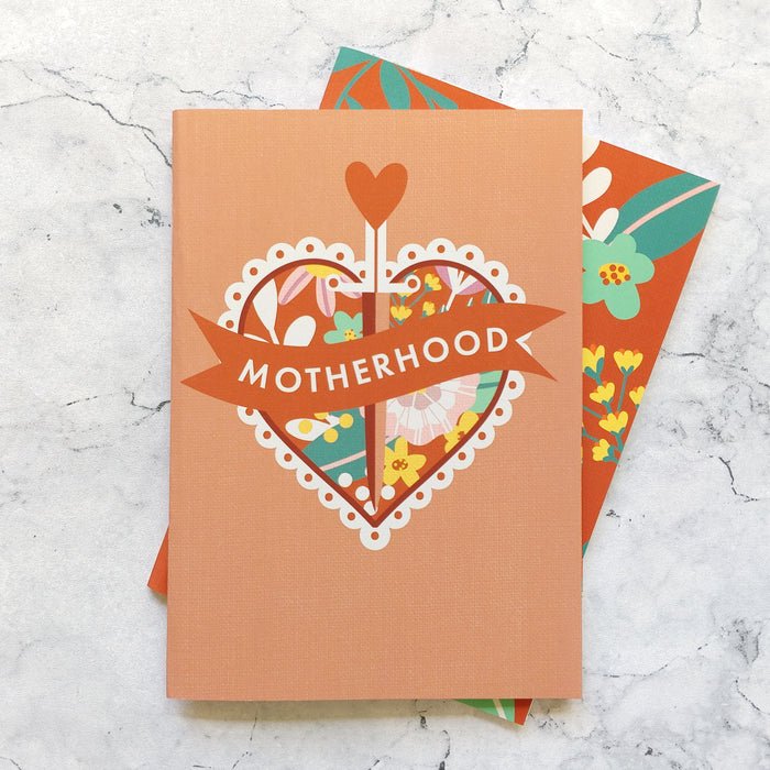 Motherhood Notebook Gift Set - Two Pack