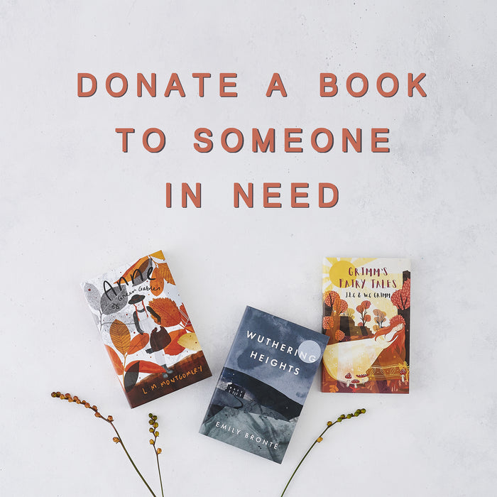 Donate a book to someone in need