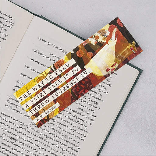 "Fairy Tales ""The Way To Read"" Bookmark"