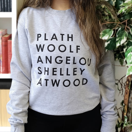 Bookish Feminist Authors Sweatshirt