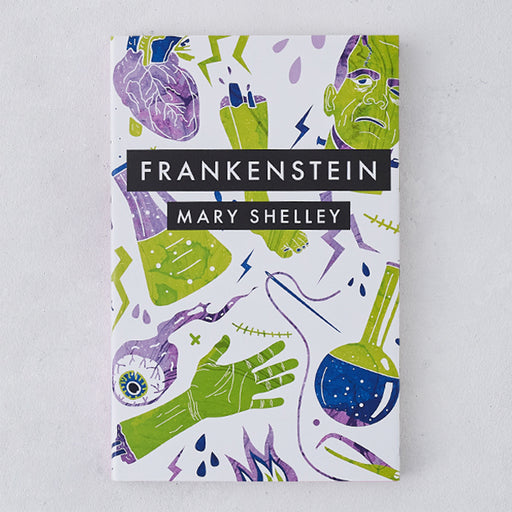 Frankenstein front cover - Frankenstein by Mary Shelley - beautiful editions of classic books