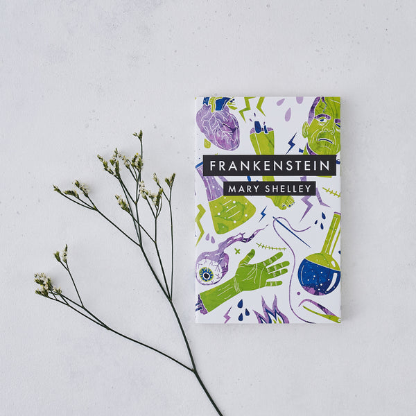 frankenstein by mary shelley with exclusive cover