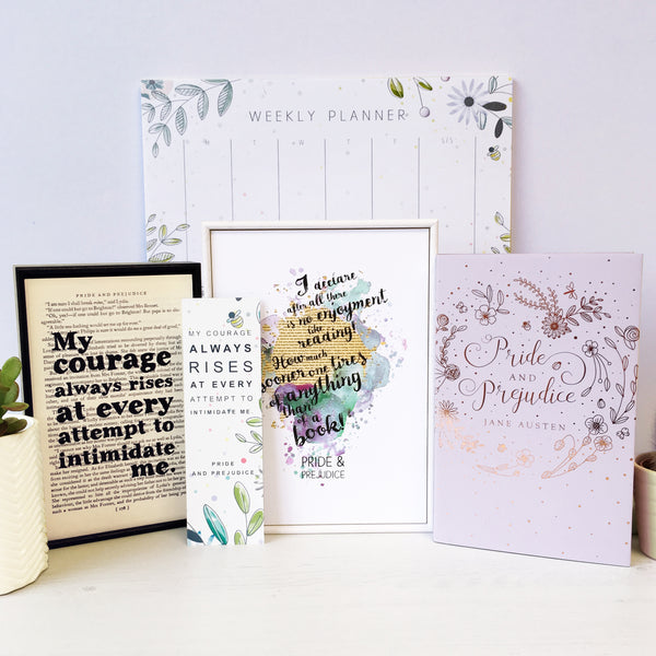 The Bookishly Crate - Pride & Prejudice