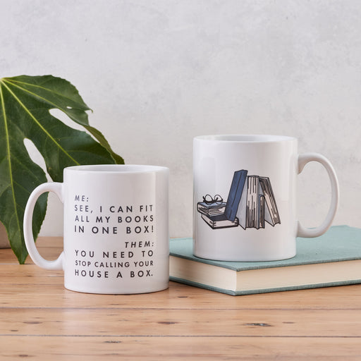 funny mug relatable book lover mug gift for reader
