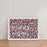 "Pink Leopard Print ""Happy Nights"" Wall Art"
