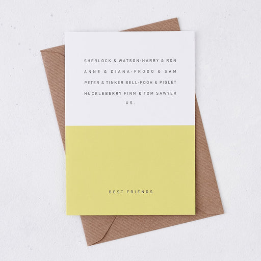 best friend birthday card best friendships in books