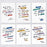 Book Lover Postcard Set - Inspiring & Encouraging Quotes - 12 Pack