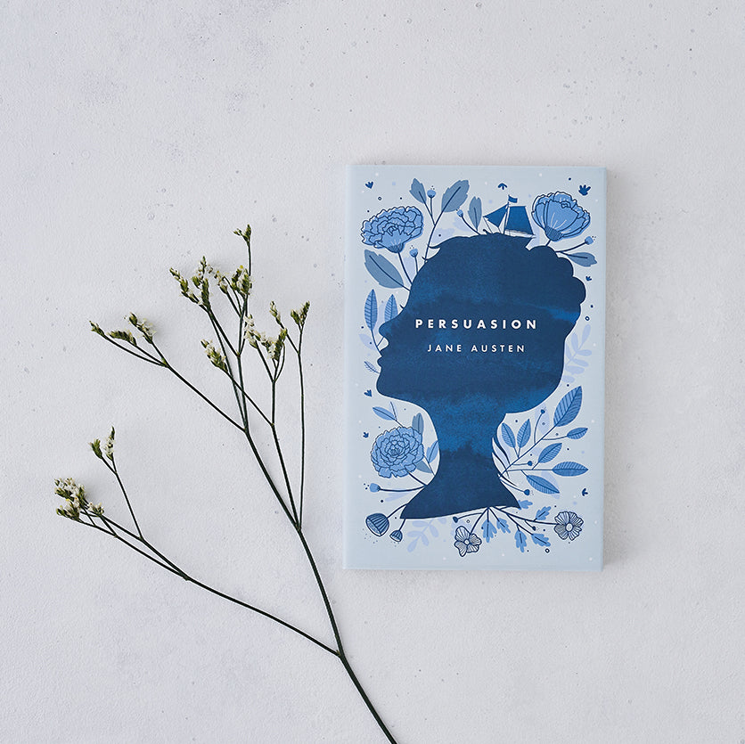 Floral 'Persuasion' Jane Austen With Exclusive Bookishly Cover