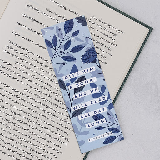 "Persuasion ""Give Him A Book"" Bookmark"