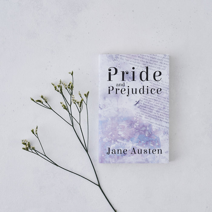 watercolour pride and prejudice book with exclusive cover