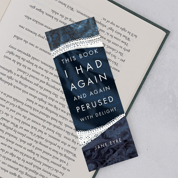 """This Book I Had Again and Again"" Jane Eyre Book Lover Bookmark"