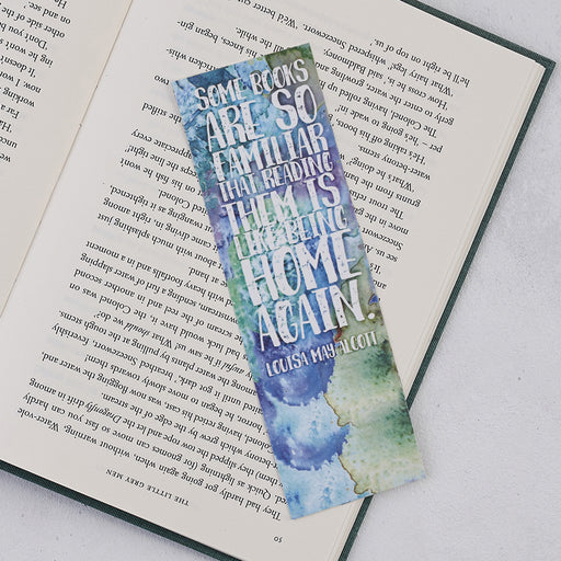 "Little Women ""Some Books Are So Familiar"" Bookmark"